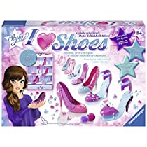 Ravensburger 18535 So Styly I Love Shoes Scarpe da Decorare