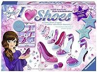 Ravensburger 18535 - Kinder-Bastelsets, I love Shoes Maxi Princess - So Styly
