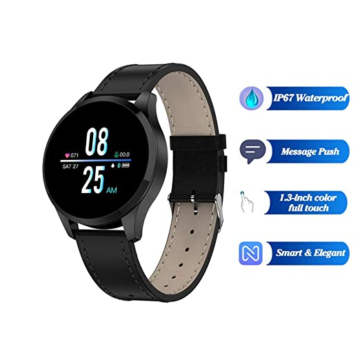 QLPP Smart Watch Android Fitness Tracker con Monitor de ...