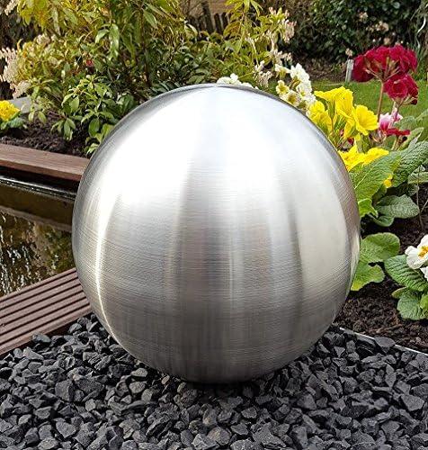 Unbekannt Moderne Deko Kugeln Gartenkugeln 2 St/ück aus Edelstahl in Silber Durchmesser 15 cm