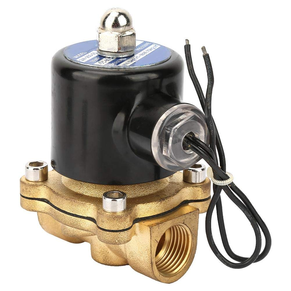 Normally Closed Valve DC24V DN25 1.6MPA One Direction Brass Water Solenoid Valve for Water Oil Gas Electric Solenoid Valve