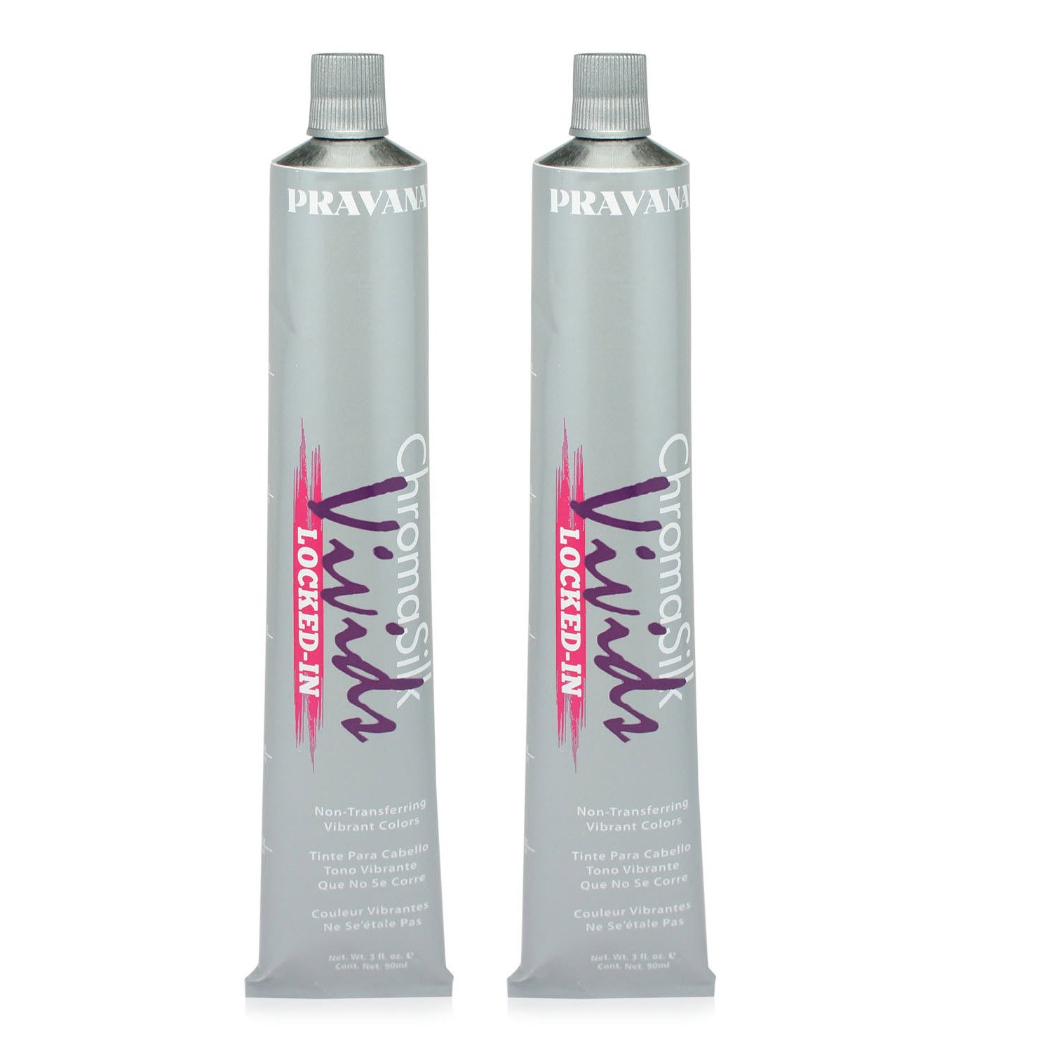 Pravana ChromaSilk Vivids (Locked in Blue), 3 Fl 0z - 2 Pack by Pravana (Image #2)