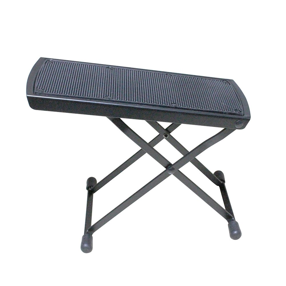 Professional Metal Guitar Foot Rest, Sturdy Guitar Foot Stool, Guitar Support for Classical, Acoustic or Electric Guitar Players/Flanger/FA-80M/1pack Limited