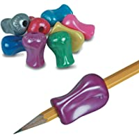 The Pencil Grip Metallic, Universal Ergonomic Training Gripper for Righties and Lefties, 6 Count Assorted Colors (TPG-11806)
