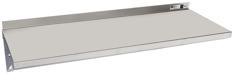 EWS8-1236 acero inoxidable estándar estante de la pared, 36 ...