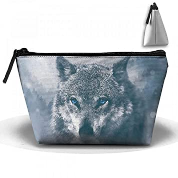 20873d86f3f0 Cool 3D Wolf Gifts Cosmetic Bags Portable Travel ... - Amazon.com