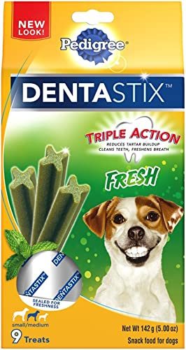 Pedigree DENTASTIX Fresh Treats for Toy Small and Medium Dogs 5-40lbs