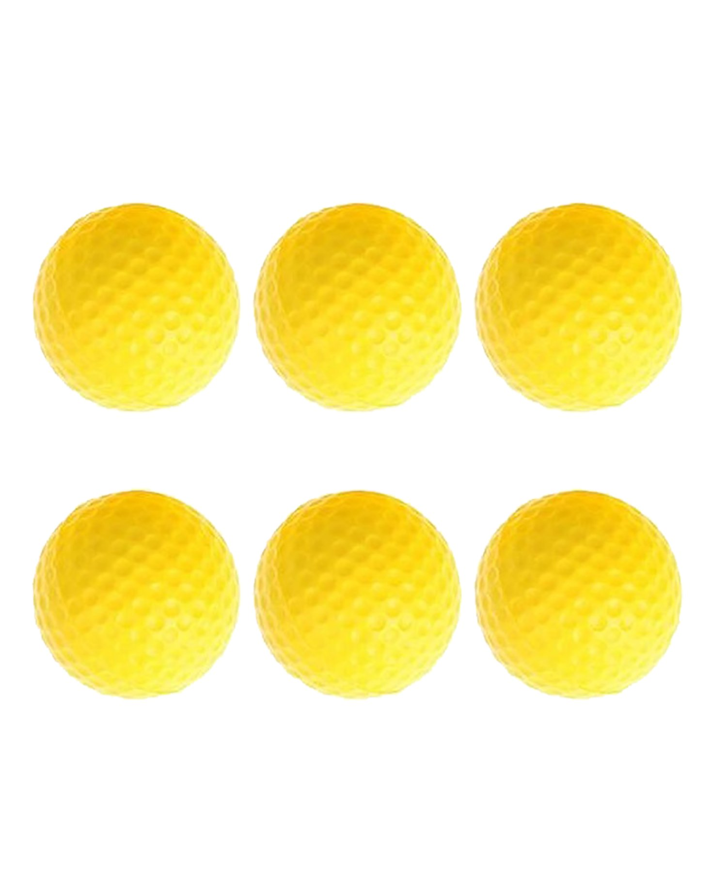 POSMA CN010A Portable Golf Training Chipping Net Bundle set with 1pc Hitting Aid Practice In/Outdoor Bag Hitting Nets + 2pcs Golf tour ball + 6pcs Golf PU ball by POSMA (Image #8)
