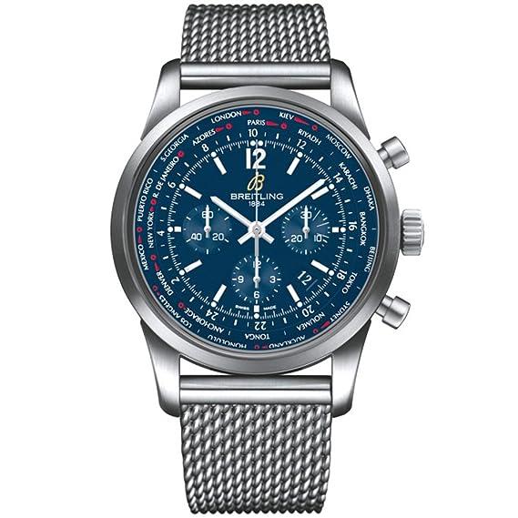 Breitling Transocean Reloj de hombre automático 46mm AB0510U9/C879SS