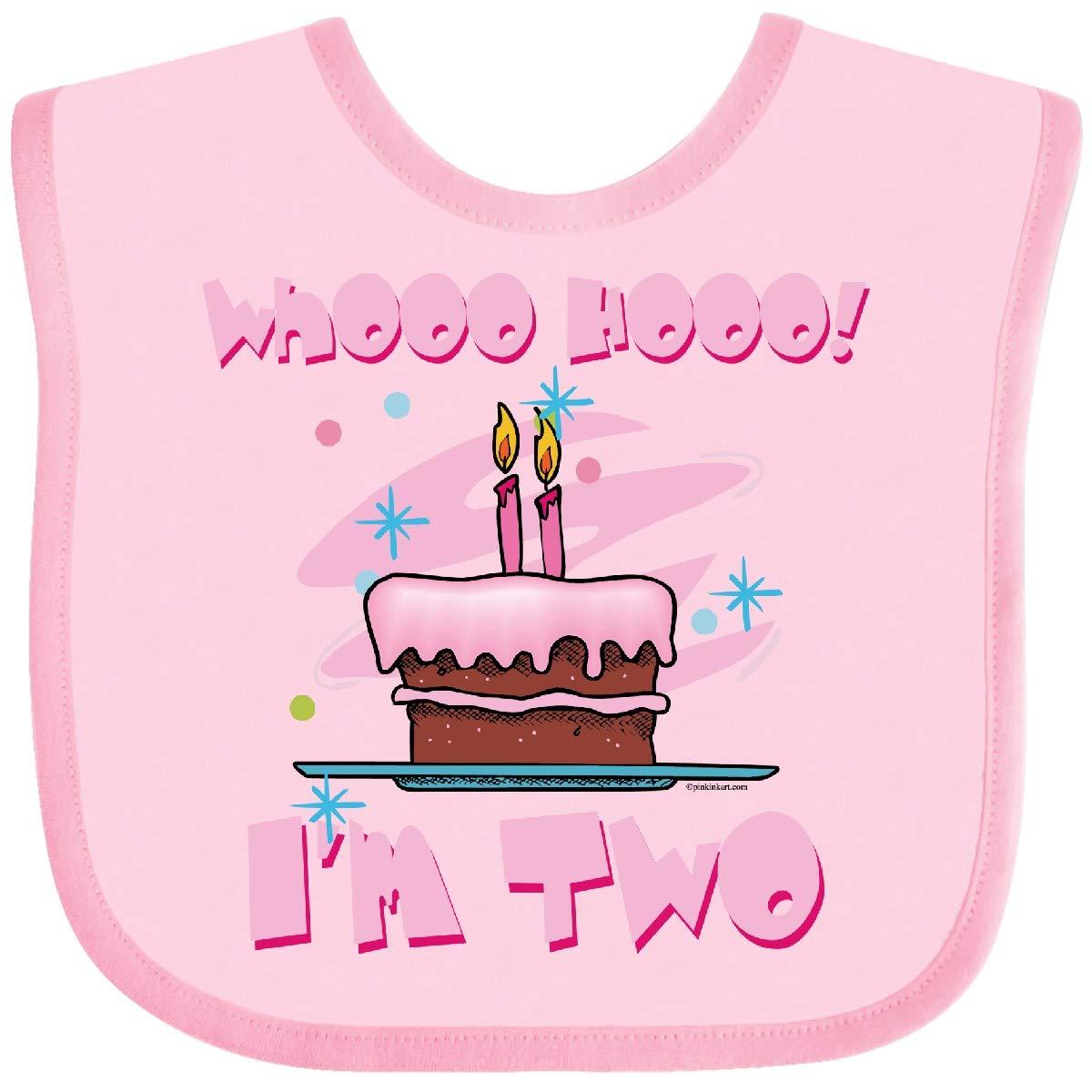 inktastic Whooo Hooo Im 2 Pink Toddler T-Shirt