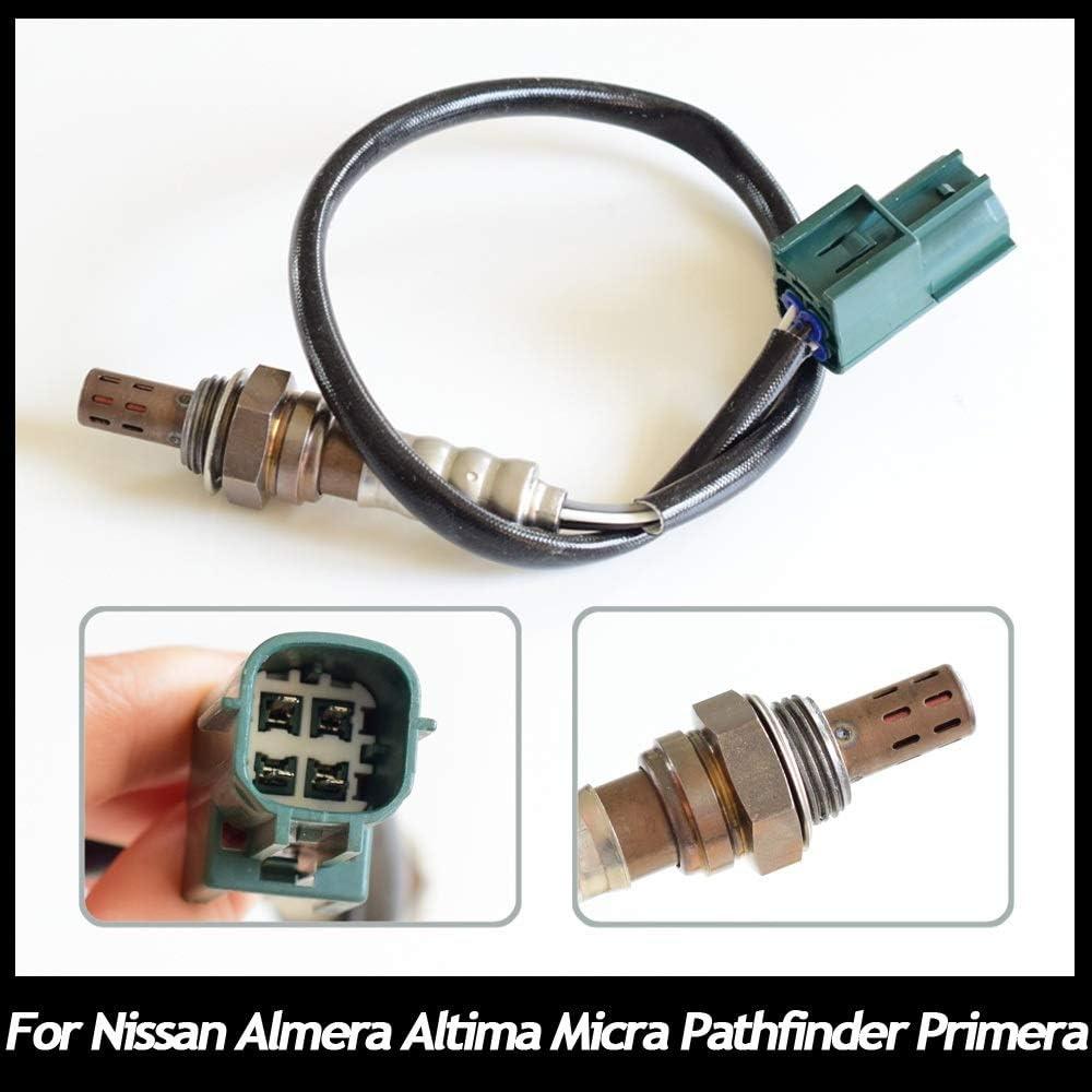 N B Loxyg/ène Sonde Lambda for Nissan Almera Altima Micra Pathfinder Primera 22690-AU000 22690-AX000 0258006462 Performance Stable et Longue dur/ée de Vie Auto Parts