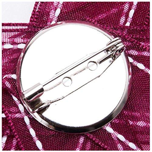 Spilla Arco Donne Collare Cristallo 9 Rhinestone Pin Legame H1x4Xtxqw