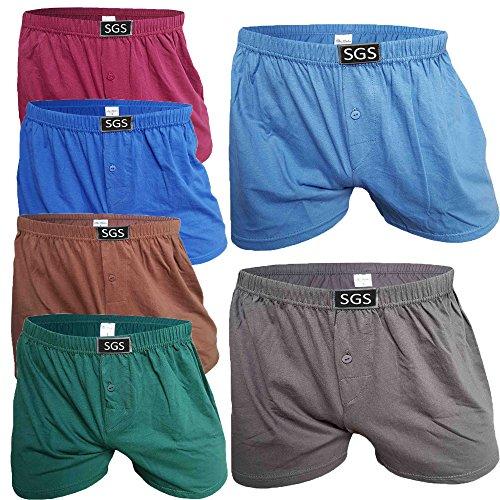 SGS 6-10 Pack Unterhosen Mann Herren Unterhosen Boxershorts Men