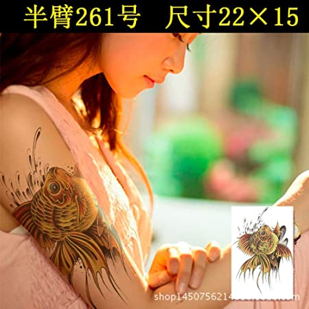 Modeganqing 5 Piezas Pegatinas de Tatuaje Impermeable Personalidad ...