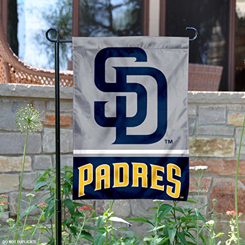 San Diego Padres Double Sided Garden Flag (San Diego Padres Fan Banner)