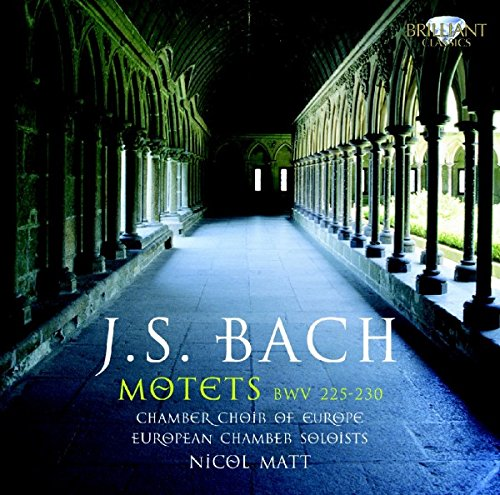 Chamber Choir Of EU/ EU Chamber Soloists/ N. Matt Bach: Motetten BWV 225-230 Other Choral Music - 227 Matt