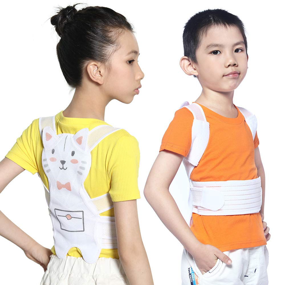 Lemon Tree Premium Posture Corrector for Kids Back Corrector for Girls by ROSERAIN - Scoliosis Humpback Correction Belt-Physical Therapy Spinal Support Back Braces-Posture Trainer for Women (Small)