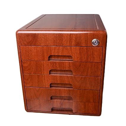 Archivadores Oficina con Lock Desktop Tipo de cajón de 5 Capas