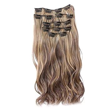 Lockige haarverlangerung clips