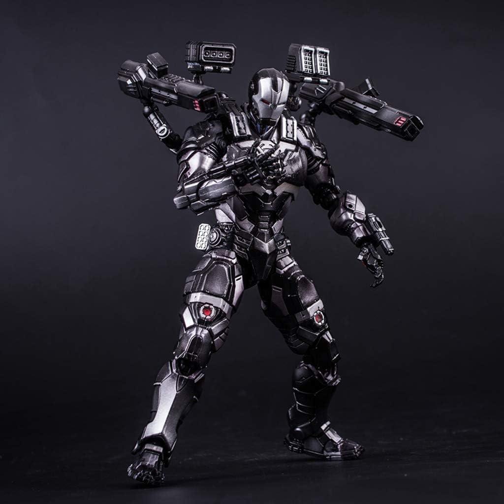 RMJAI Avengers Series - Iron Man Modelo de Robot Decoración PVC En ...