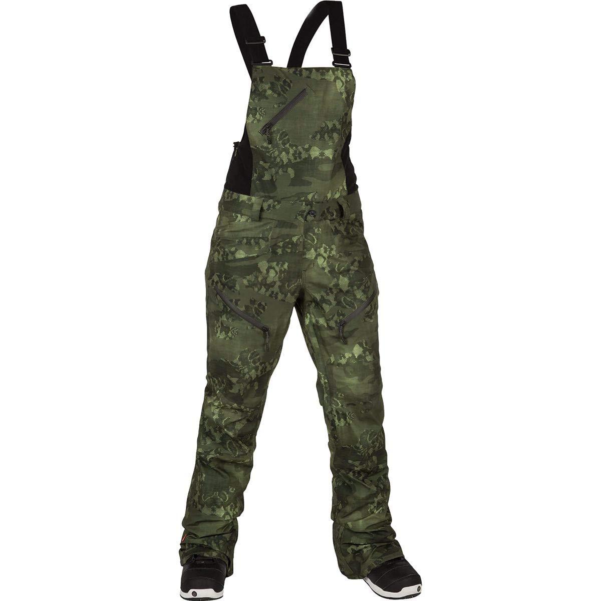 (ボルコム) Volcom Elm Gore Bib Overall Pant レディース スキー ウェア ビブ パンツCamouflage [並行輸入品] Camouflage 日本サイズ LL相当 (US L)