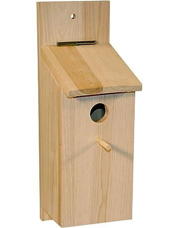 Kit de caja nido para montar 36 x 12 x 14 cm, para páridos