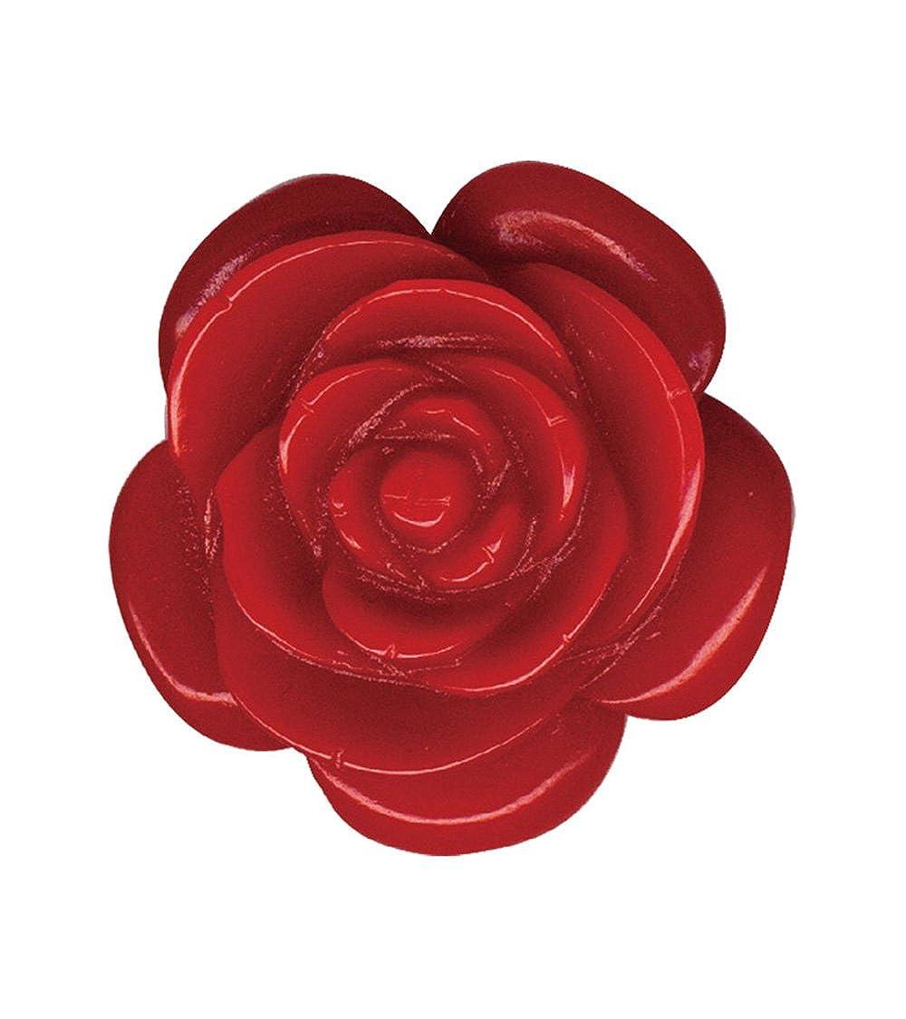 Classic Hardware Rose Retrolite Pin