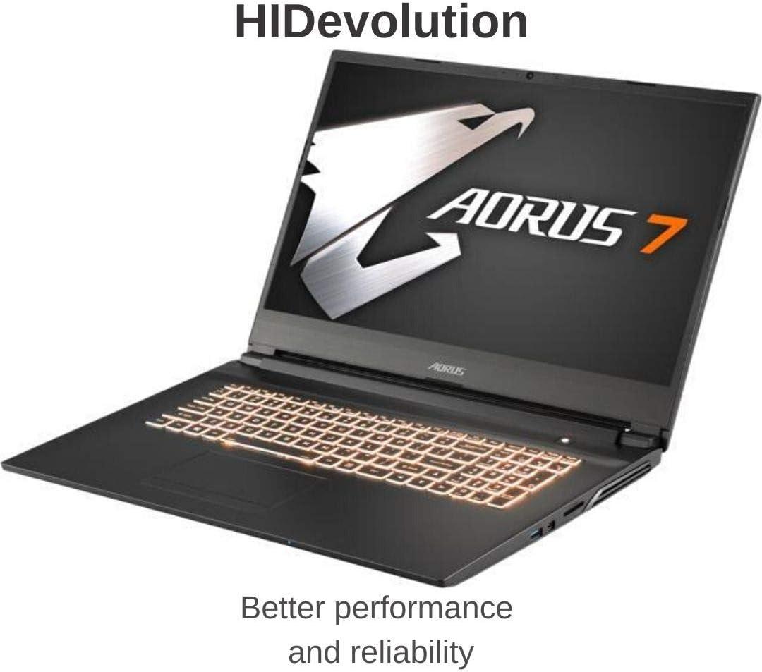 "HIDevolution AORUS 7 KB-7US1130SH 17.3"" FHD 144Hz, 2.6 GHz i7-10750H, RTX 2060, 16 GB 2666MHz RAM, 2 TB PCIe SSD"