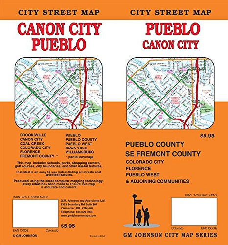 Pueblo / Canon City, Colorado Street Map