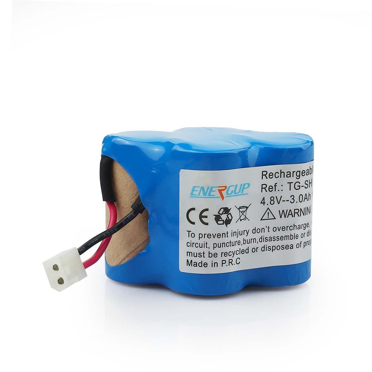 Energup Euro Pro Shark 4.8V Vacuum Replacment Battery for Shark V1700Z V1930 Replaces X1725QN