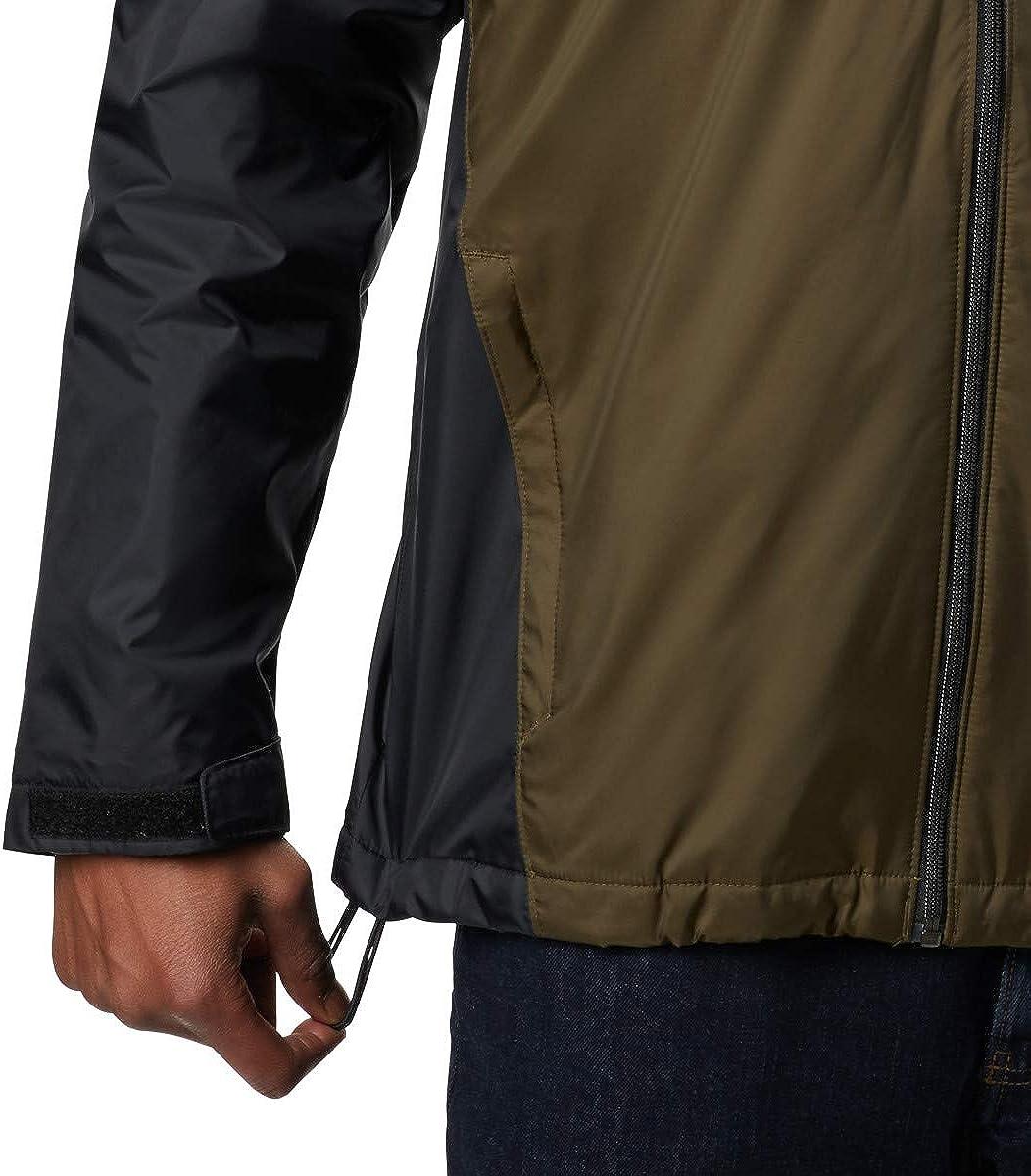 Columbia Men/'s Glennaker Sherpa Lined Rain Jacket Waterproof