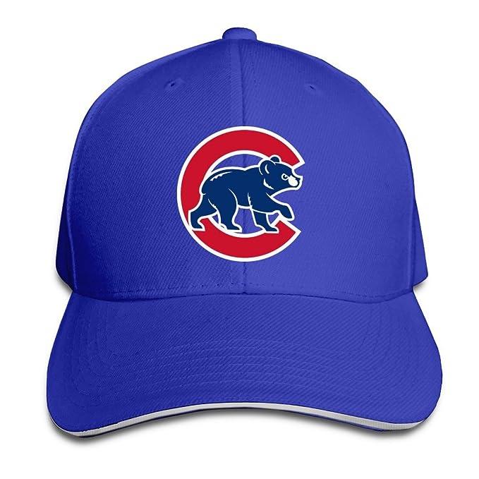 0bca33f267d3b Sunny Fish6hh Unisex Ajustable Chicago Cubs Gorras de béisbol Gorro Talla  única  Amazon.es  Ropa y accesorios