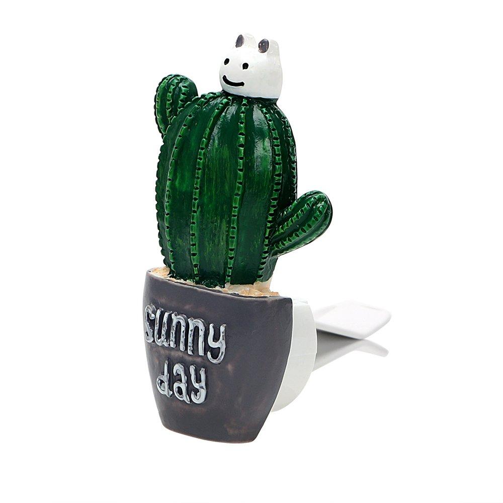 Holdream Ambientador para coche, diseñ o de cactus diseño de cactus