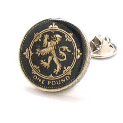 Escocés moneda Tie Tack – Pin Escocia Reino Unido gran Bretaña ...