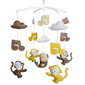 sch/öne Kind Musik mobil handgemachte Babykrippe Handy h/ängenden Glocke
