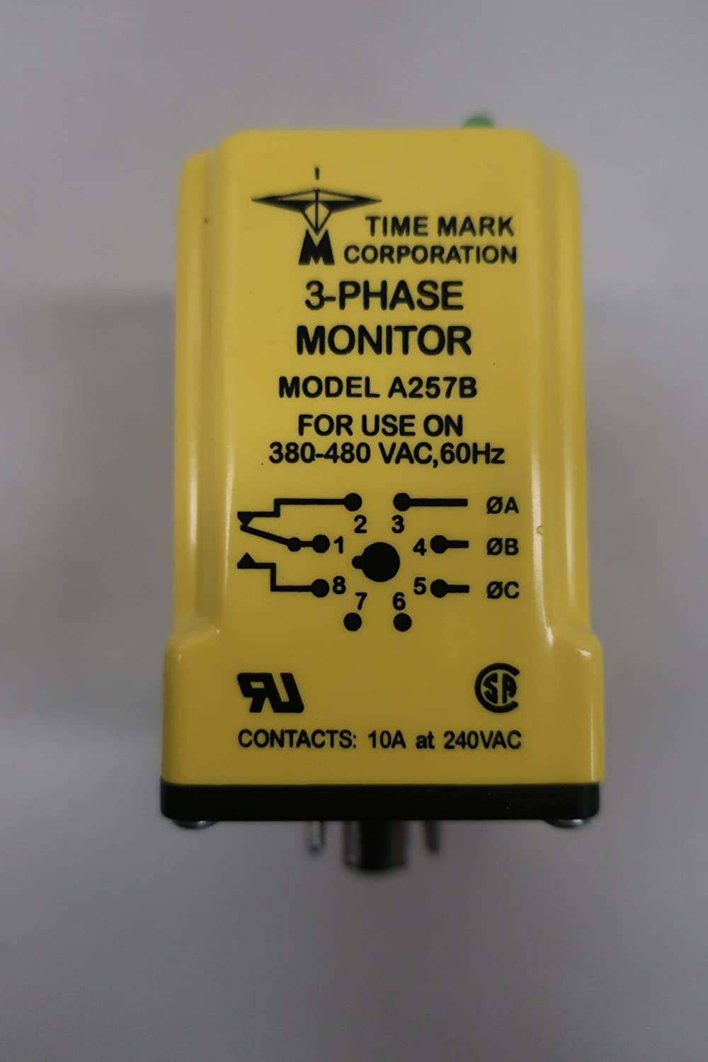 TIME MARK A257B 3-Phase Power Monitor 380-480V-AC