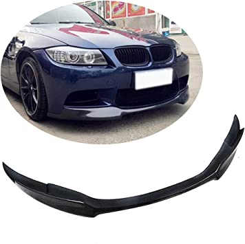 3D Carbon Fiber Extension Front Splitter Lip For BMW 2008-2013 E92 E93 M3 Bumper