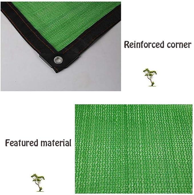 Zichen Tende da Sole Tende Copertura Telo di Stoffa Resistente ai Raggi UV Telo da Giardino Copertura a Rete Copertura ombreggiante Tessuti filtranti solari Permeabile con Corda Libera Size : 3X3M