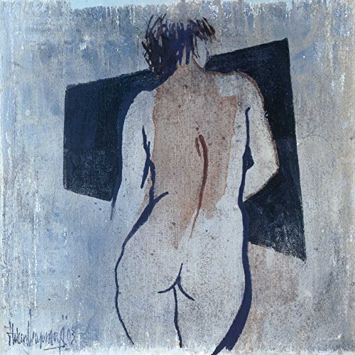 """Studies from the nude III by Heleen Vriesendorp - 10"""" x 10"""" Giclee Canvas Art Print"""