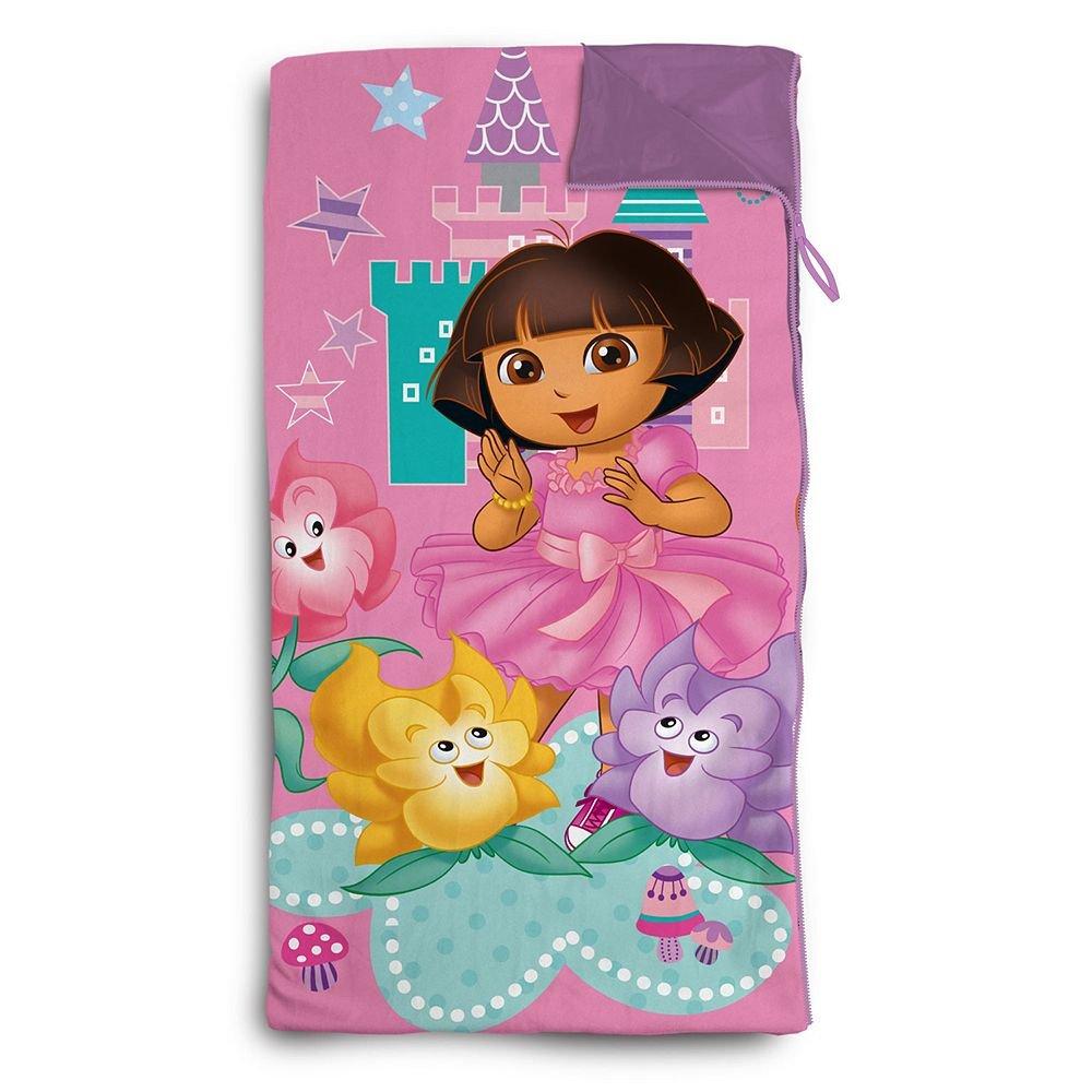 Dora the Explorer Slumber Sack Sling Bag Set Idea Nuova Inc