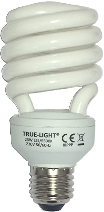 True Light 23w L Ampoule Lumiere Du Jour Originale Spectre