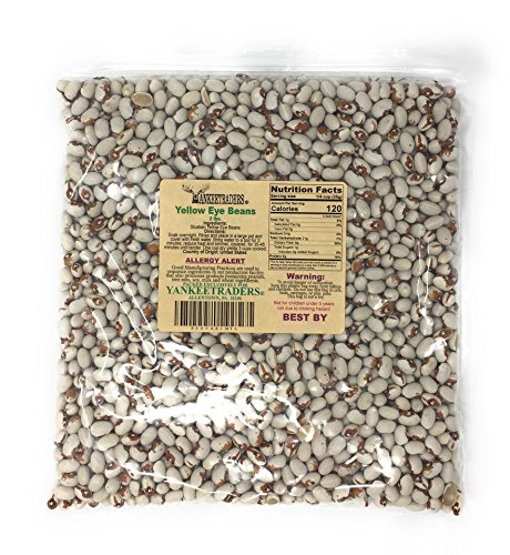 Black Eye Bean Soup - Yankee Traders Eye Beans, Yellow, 2 Pound