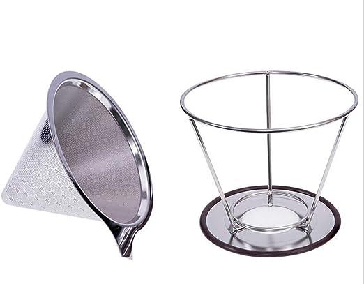 Pour Over Filtro de café - Filtro de café de goteo reutilizable ...