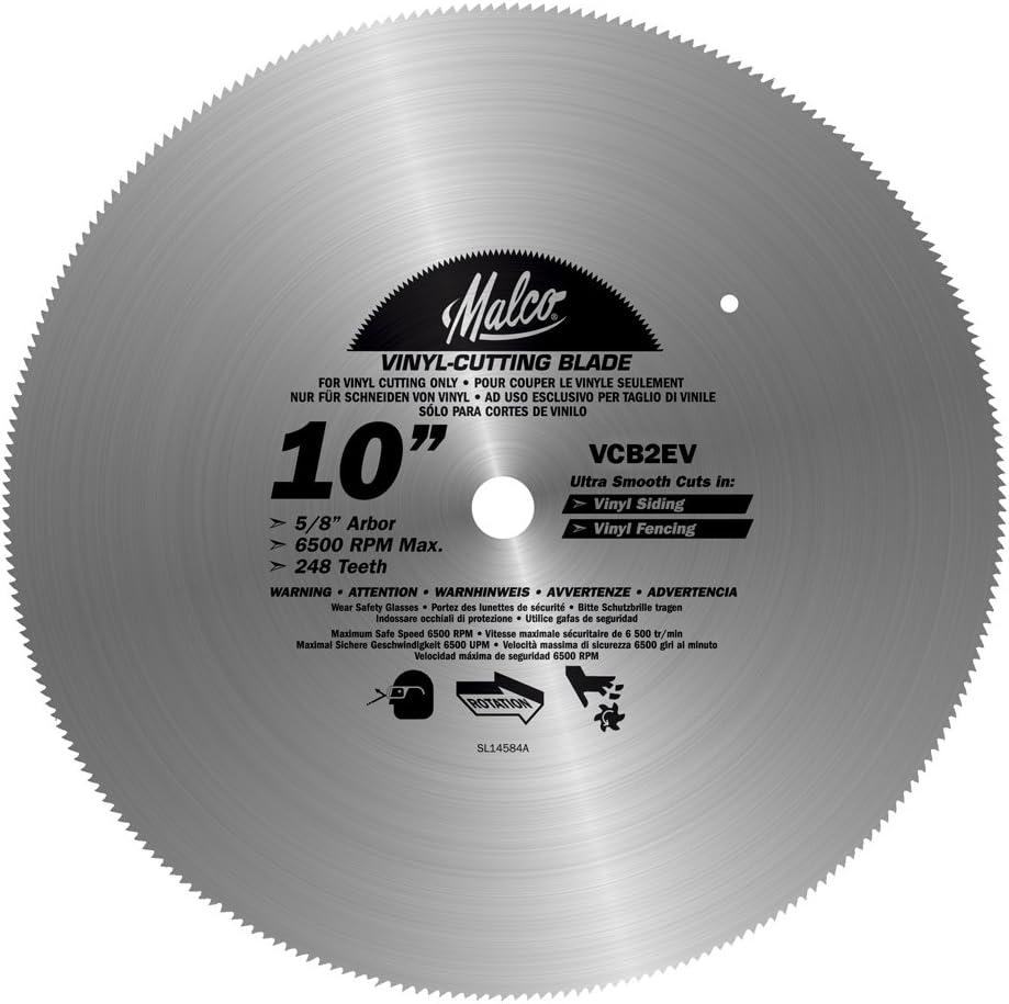 Malco VCB1 7-1/4-Inch Circular Saw Blade
