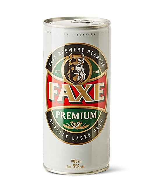 7 opinioni per Faxe Birra Premium Chiara Ml.1000