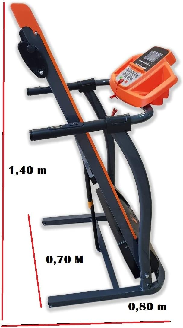 TRÉBOL ADVANCE Cinta de Andar y Correr Plegable Motor 1.5 HP 3 ...
