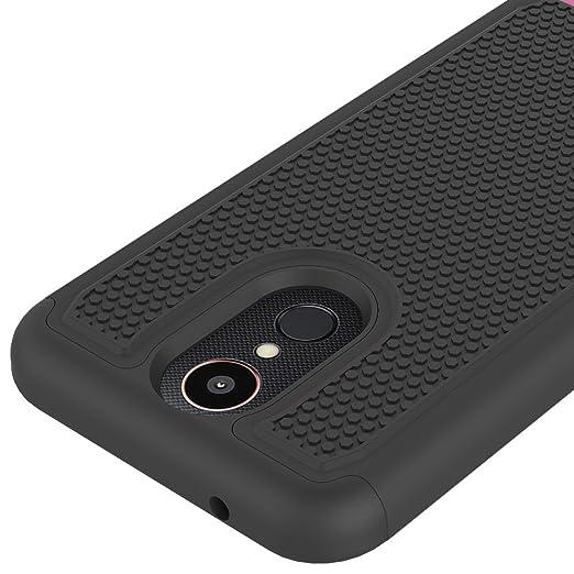 LG K20 Plus Case, LG K20 Case, LG K20 V K20V Phone Case, LG Harmony Case, LG Grace LTE Phone Case, OEAGO [Shockproof] Hybrid Dual Layer Defender ...