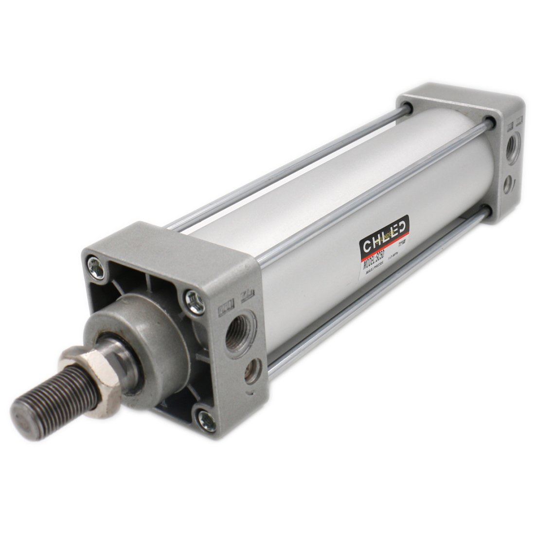 Heschen pneumatico standard cilindro SC 50 –  125 PT1/4 porte 50 mm diametro 125 mm, corsa a doppio effetto CHLED Pneumatic