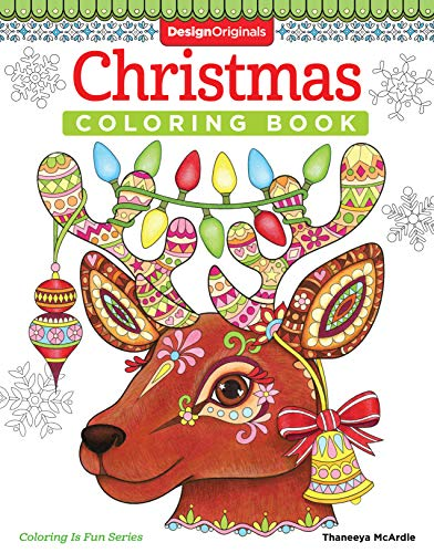 Design Originals Book - Christmas Coloring Book (Coloring is Fun) (Design Originals) 32 Fun & Playful Holiday Art Activities from Thaneeya McArdle on High-Quality, Extra-Thick Perforated Pages that Resist Bleed-Through