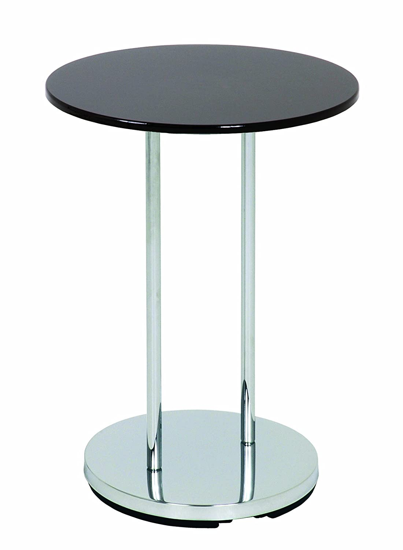 Haku Mö bel, Tavolino d'appoggio Tom Nero (Chrom/Schwarz) Tavolino d' appoggio Tom Nero (Chrom/Schwarz) Haku Möbel 33560
